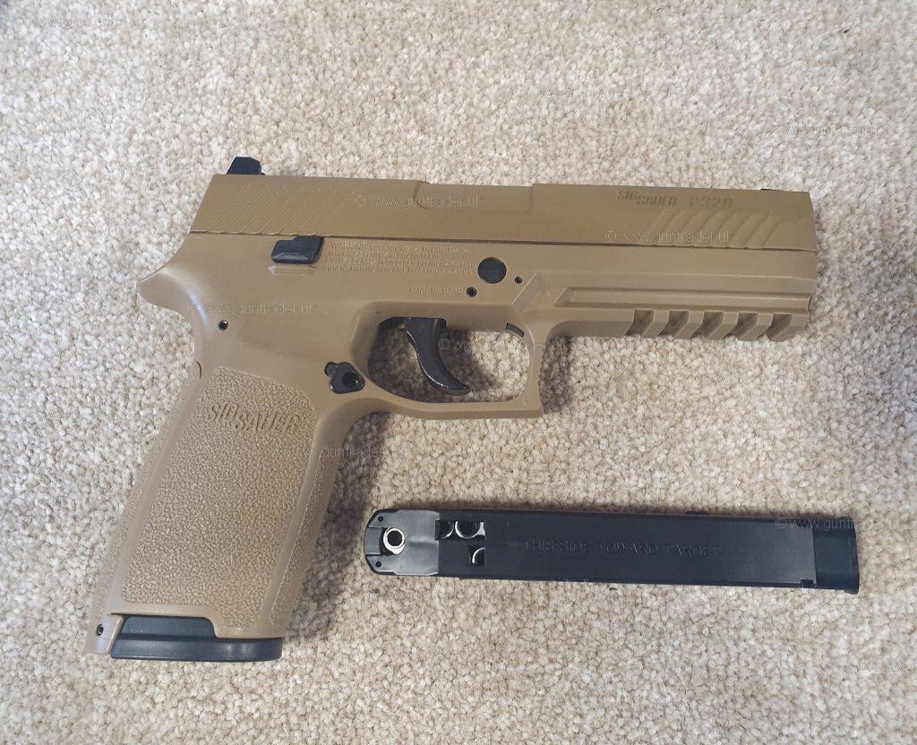 Sig Sauer  177 P320 CO2 Air Pistol (R/H) -New