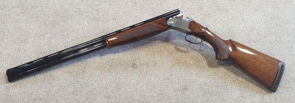 Bettinsoli 12 gauge X Trail Silver Over and Under Shotgun (R/H) -S/H