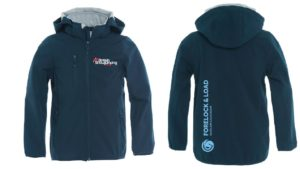 British Showjumping Kids Softshell Jacket