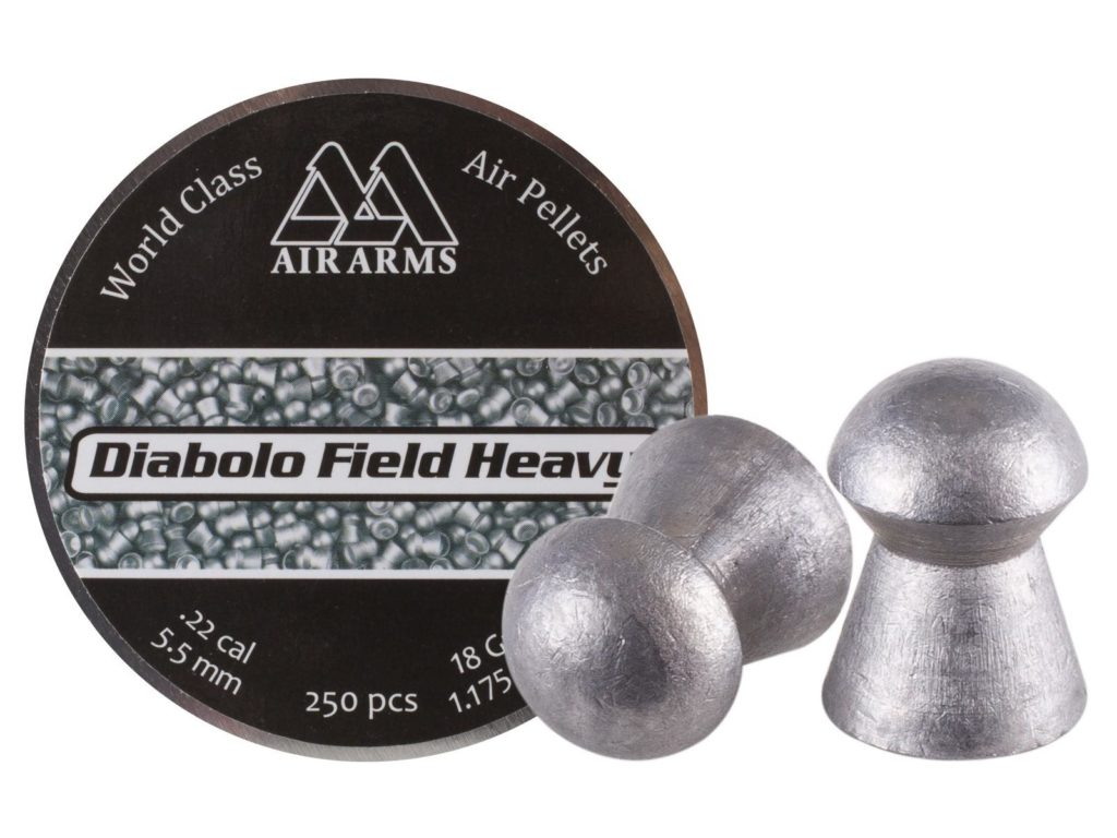 Air Arms Diabolo Field Heavy .22 18gr Size 5.52