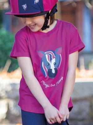 Shires Tikaboo Horse Print T-Shirt