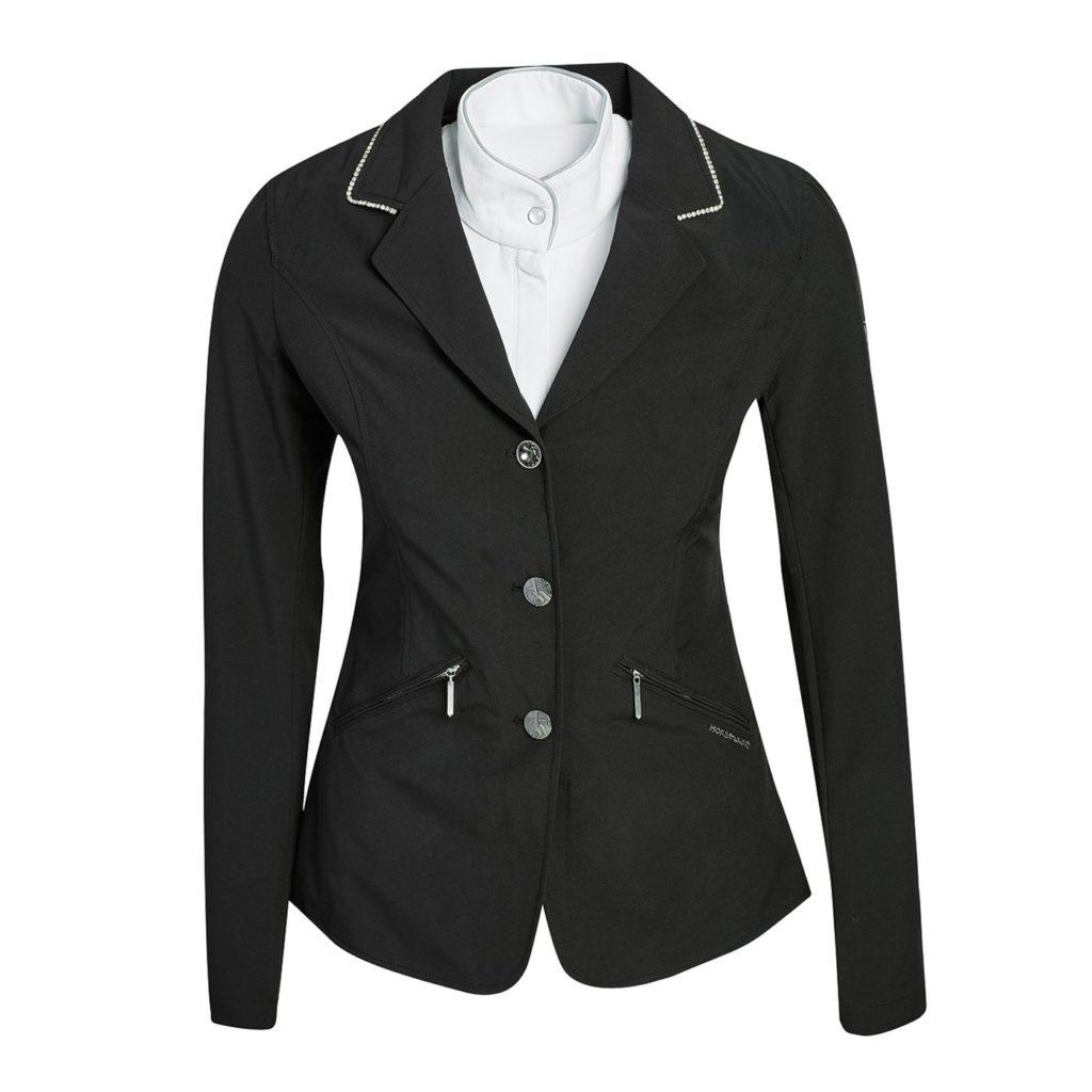 Horseware Embellished Girls Competition Jacket Black