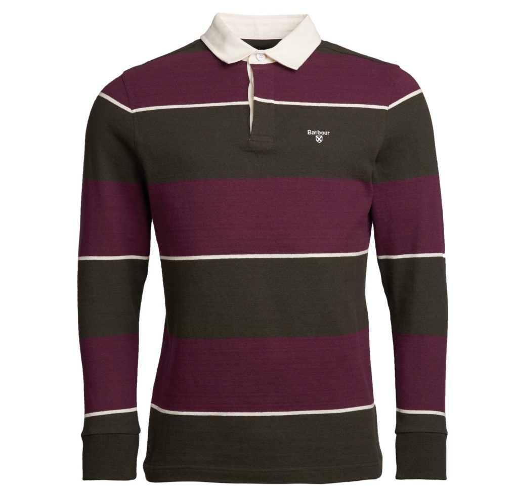 Barbour Lark Stripe Rugby