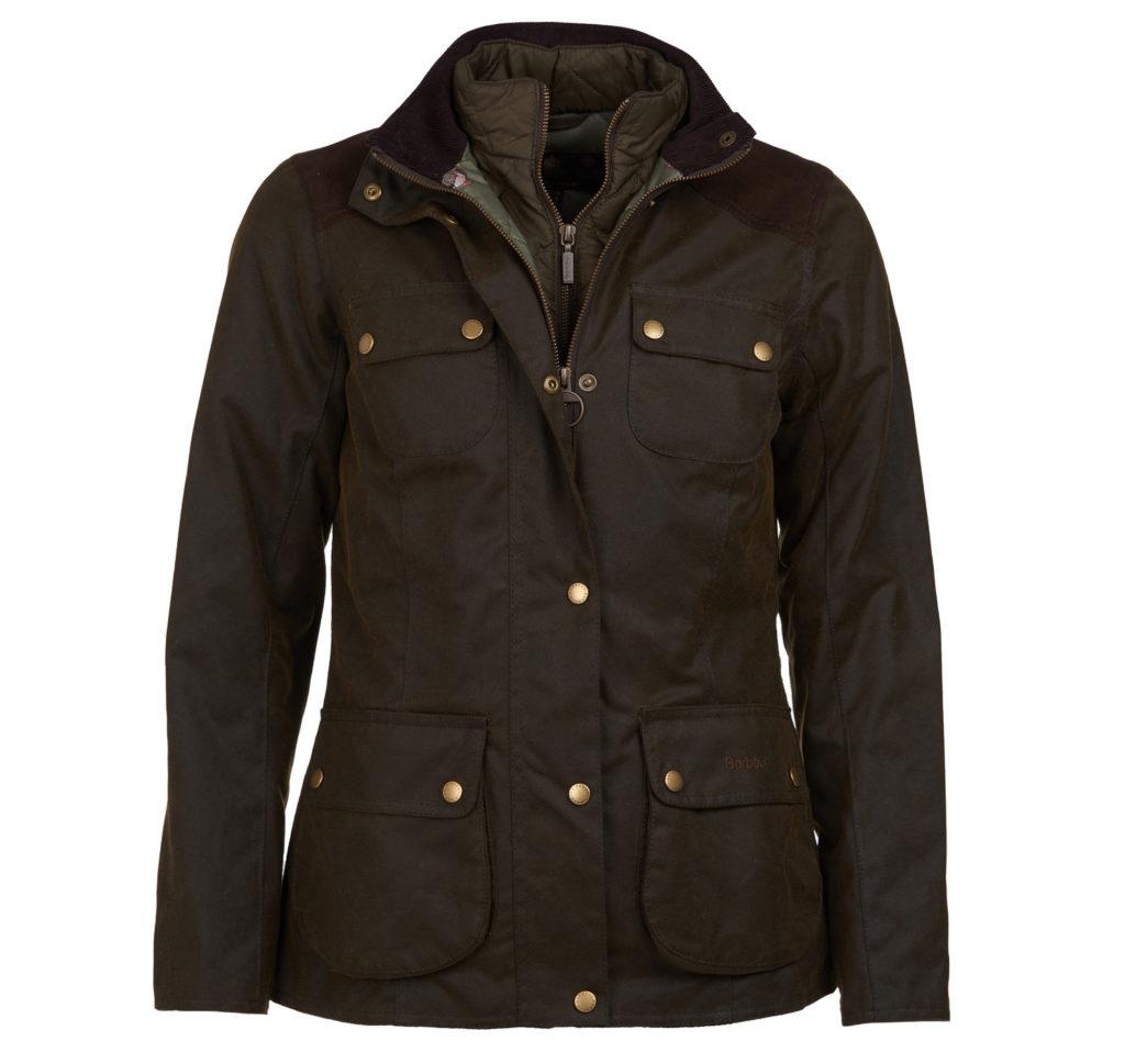 Barbour Dene Wax Jacket