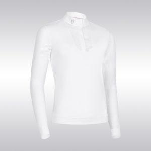Samshield Faustine Long Sleeve Show Shirt White