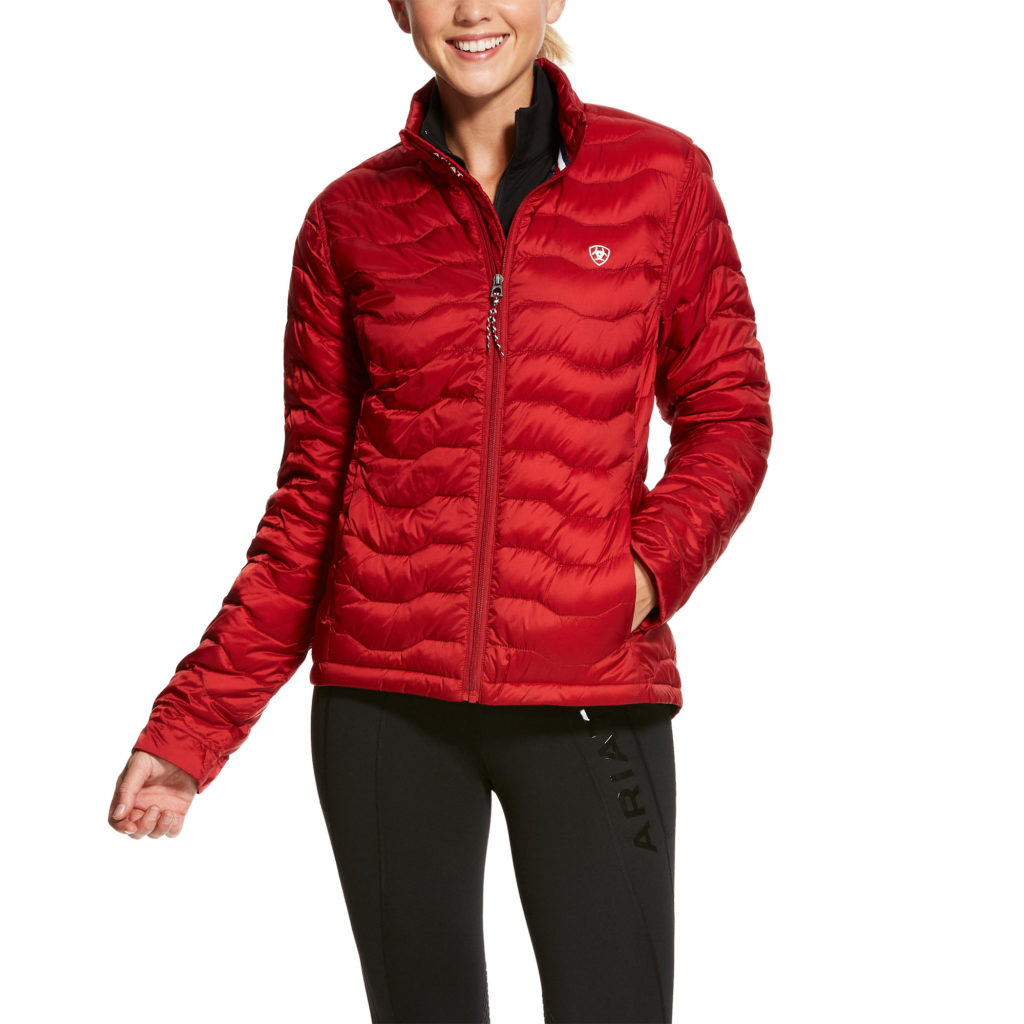 Ariat Ideal Down Jacket Laylow Red