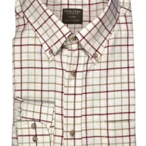 Jack Pyke Countryman Shirt Burgundy