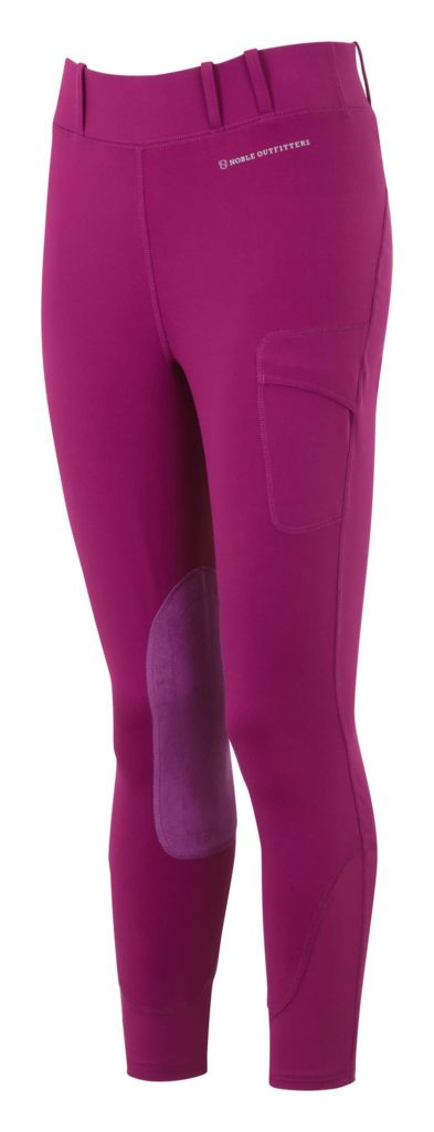 Noble Outfitters Balance Riding Tights Plum