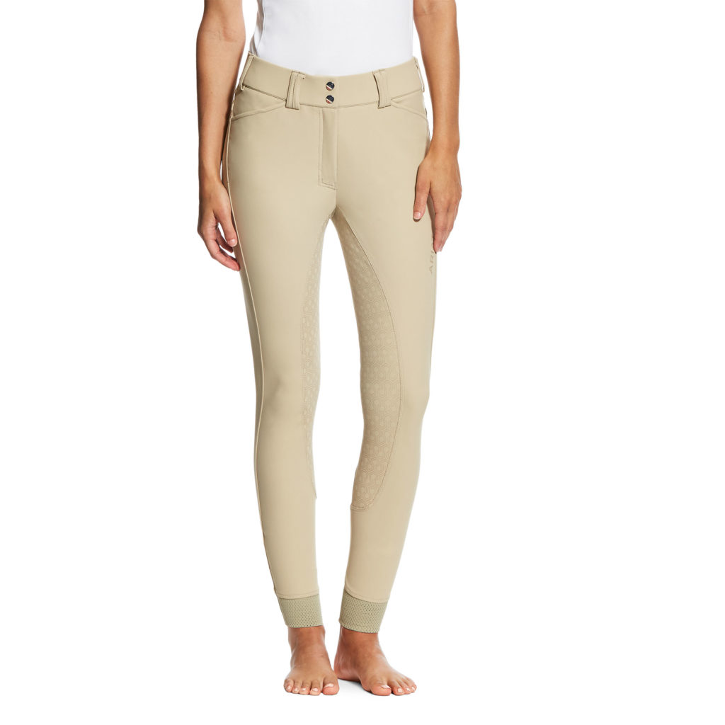 Ariat Tri Factor Grip Full Seat Breeches Tan