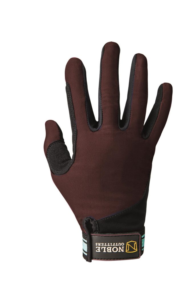 Noble Equestrian Perfect Fit Gloves Black