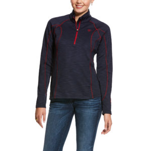Ariat Conquest 2.0 1/2 Zip Navy