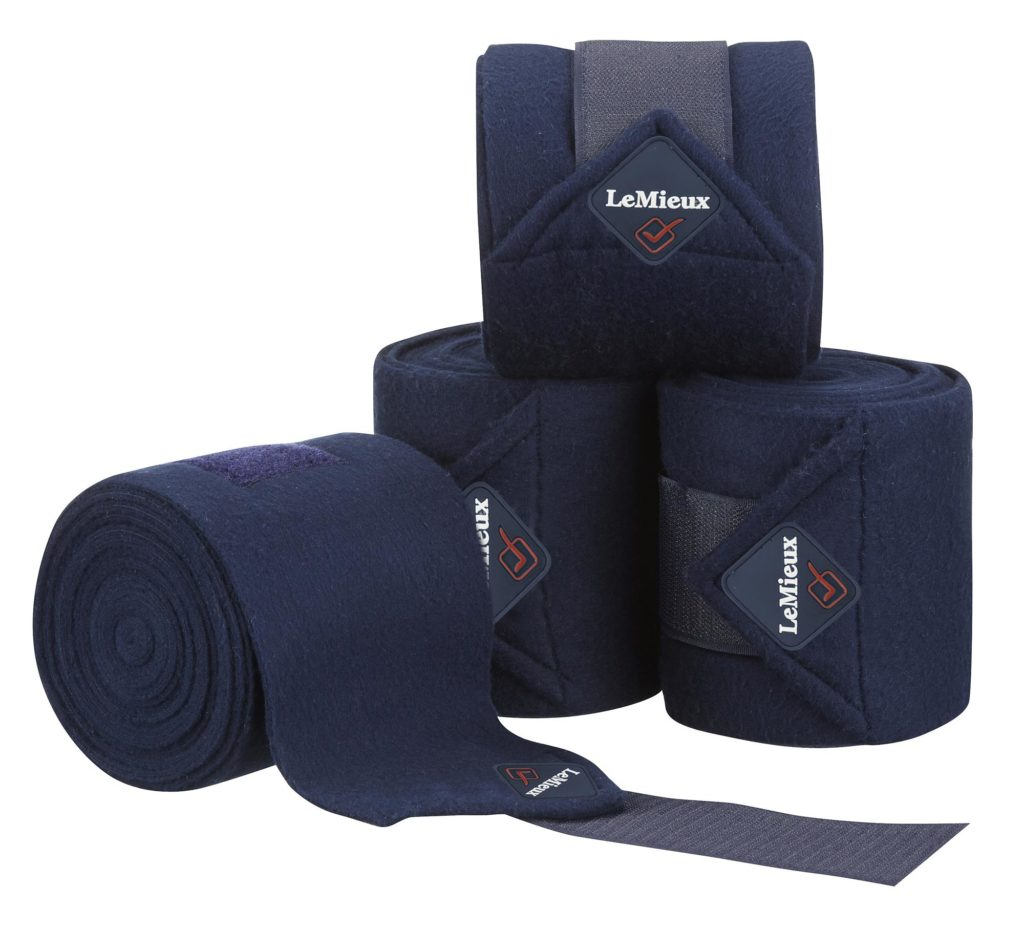 LeMieux Luxury Polo Bandage Navy