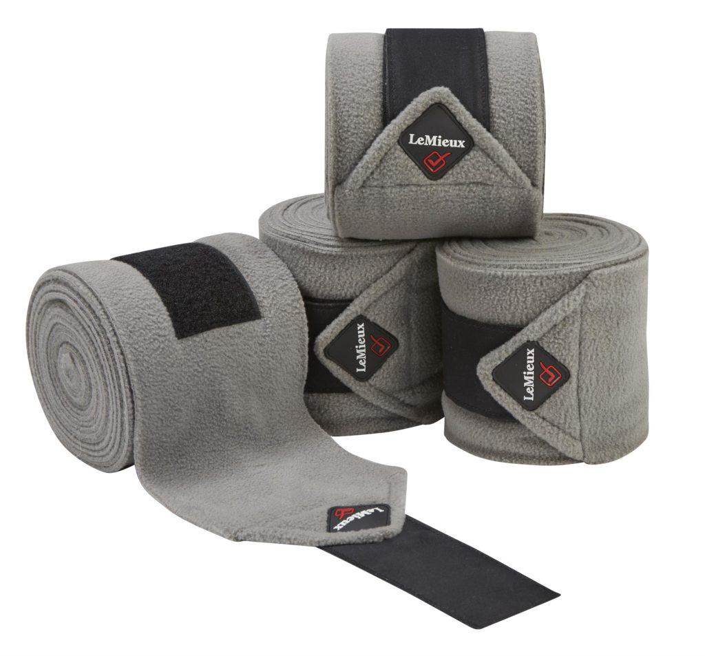 LeMieux Luxury Polo Bandage Soft Grey