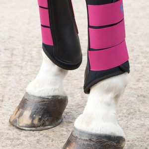 Arma Neoprene Brushing Boot Raspberry
