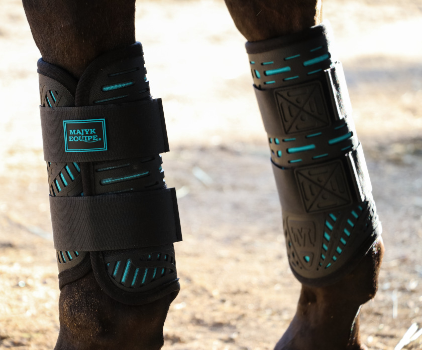Majyk Equipe Elite Front XC Boots Turquoise