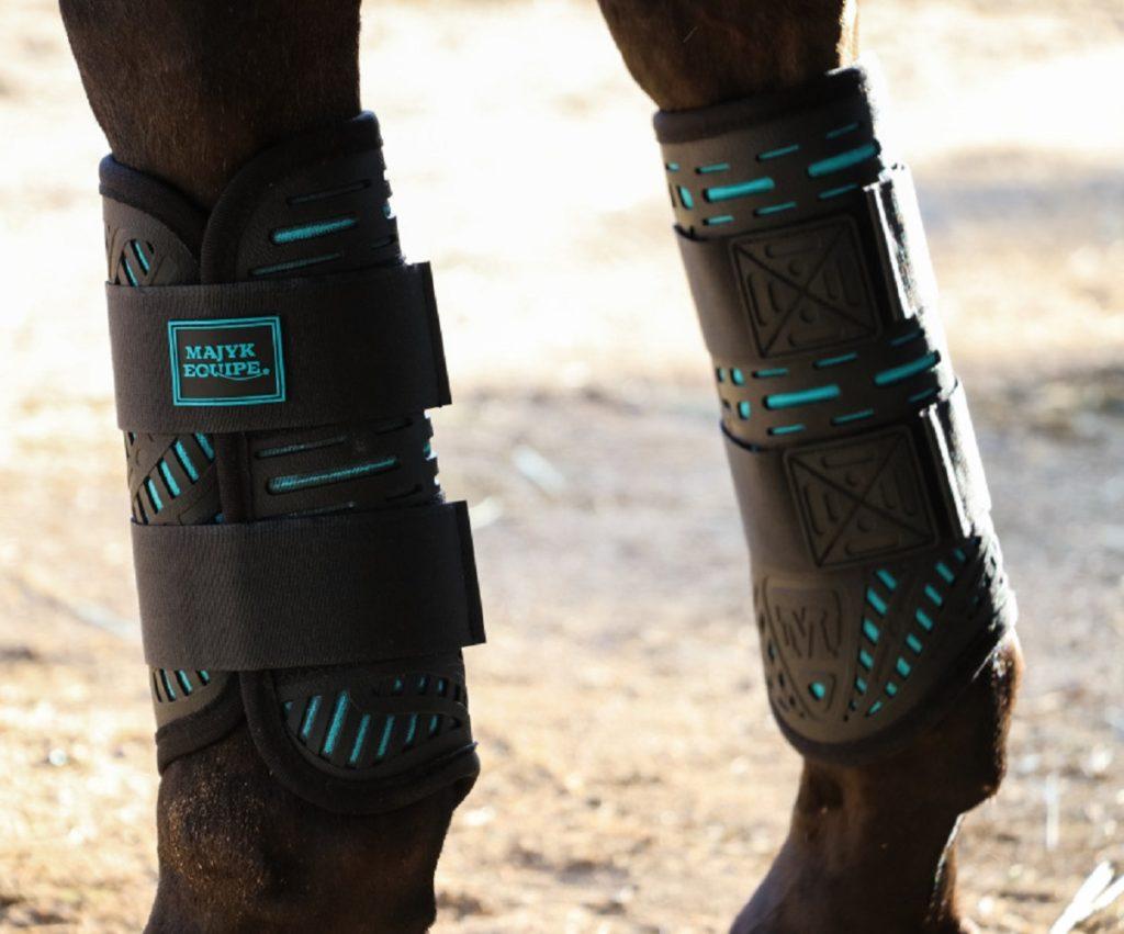 Majyk Equipe Elite Hind XC Boots Turquoise