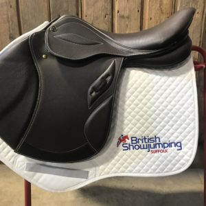 British Showjumping Saddle Cloth