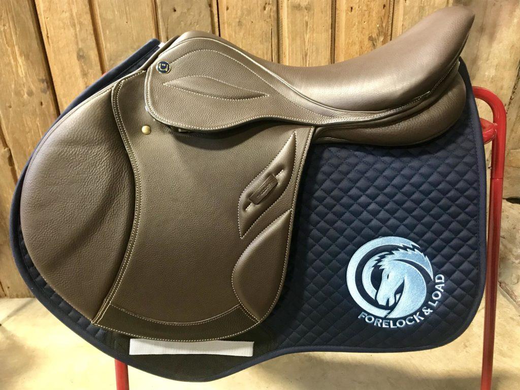Forelock & Load Branded Saddle Cloth