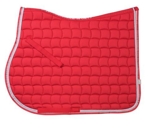 Dynamic Dressage Saddle Cloth Grapefruit