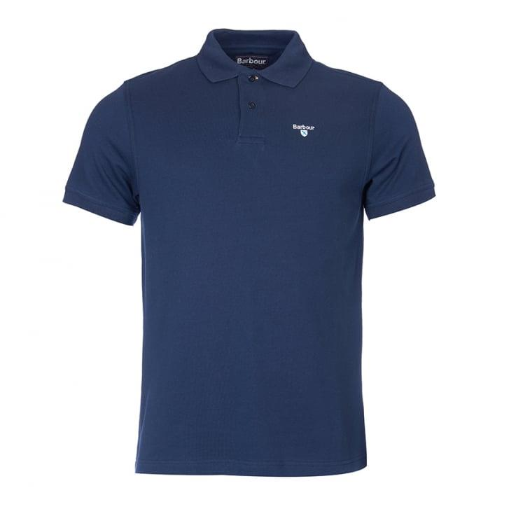 Barbour Sports Polo Racing Green