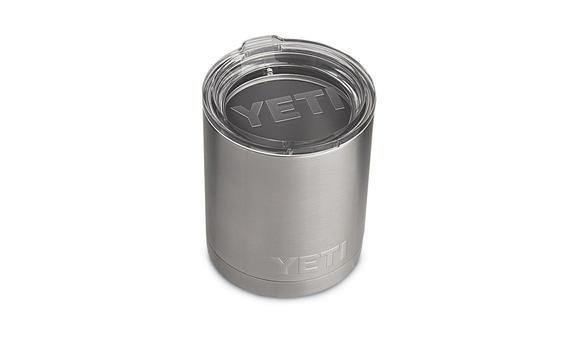 YETI Rambler Lowball Tumbler Stainless Steel