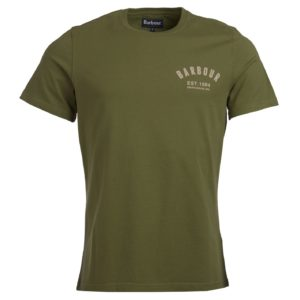 Barbour Preppy Tee Burnt Olive