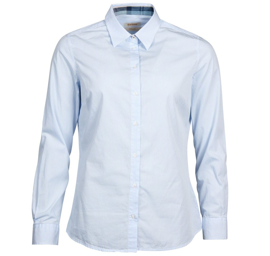 Barbour Breedon Shirt Blue White