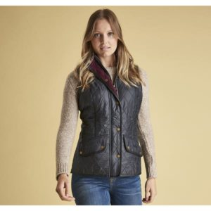 Barbour Cavalry Gilet Navy