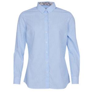 Barbour Dorset Shirt White/Blue