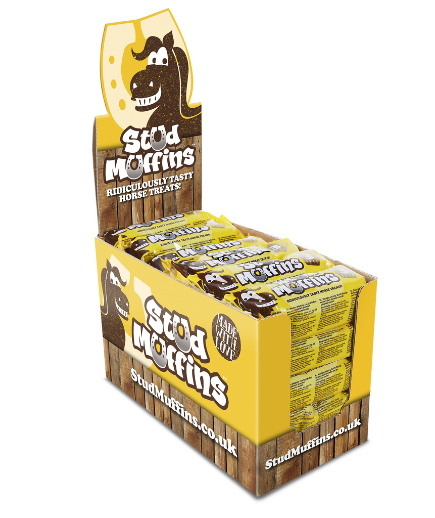 Stud Muffins Horse Treats Pack of 3