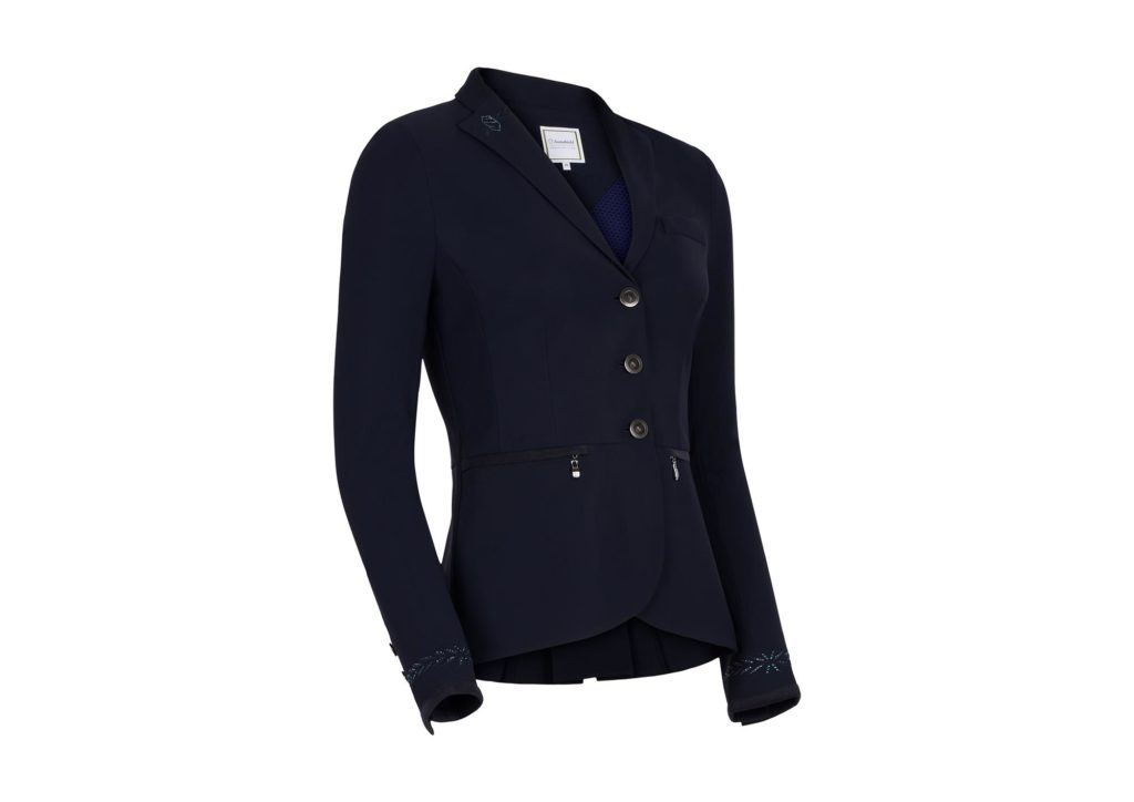 Samshield Victorine Embroidery Show Jacket Navy
