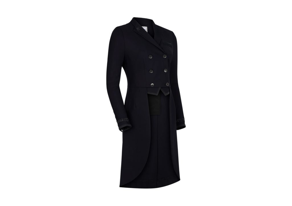 Samshield Frac Tail Coat Embroidery Black
