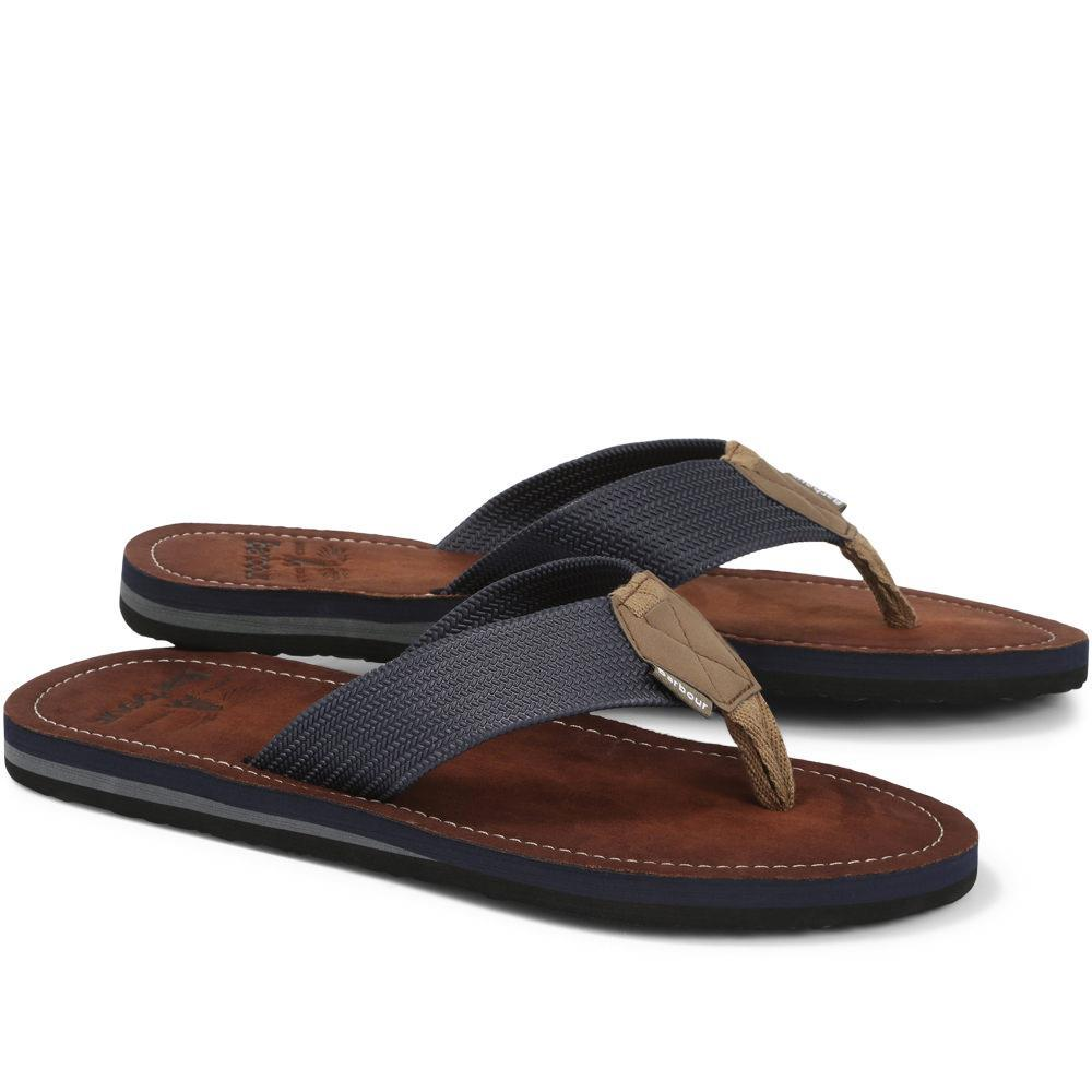 Barbour Toeman Beach Sandal Navy