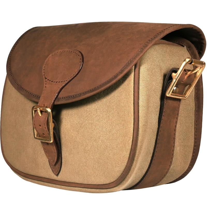 Huntsman Canvas and Leather Cartridge Bag