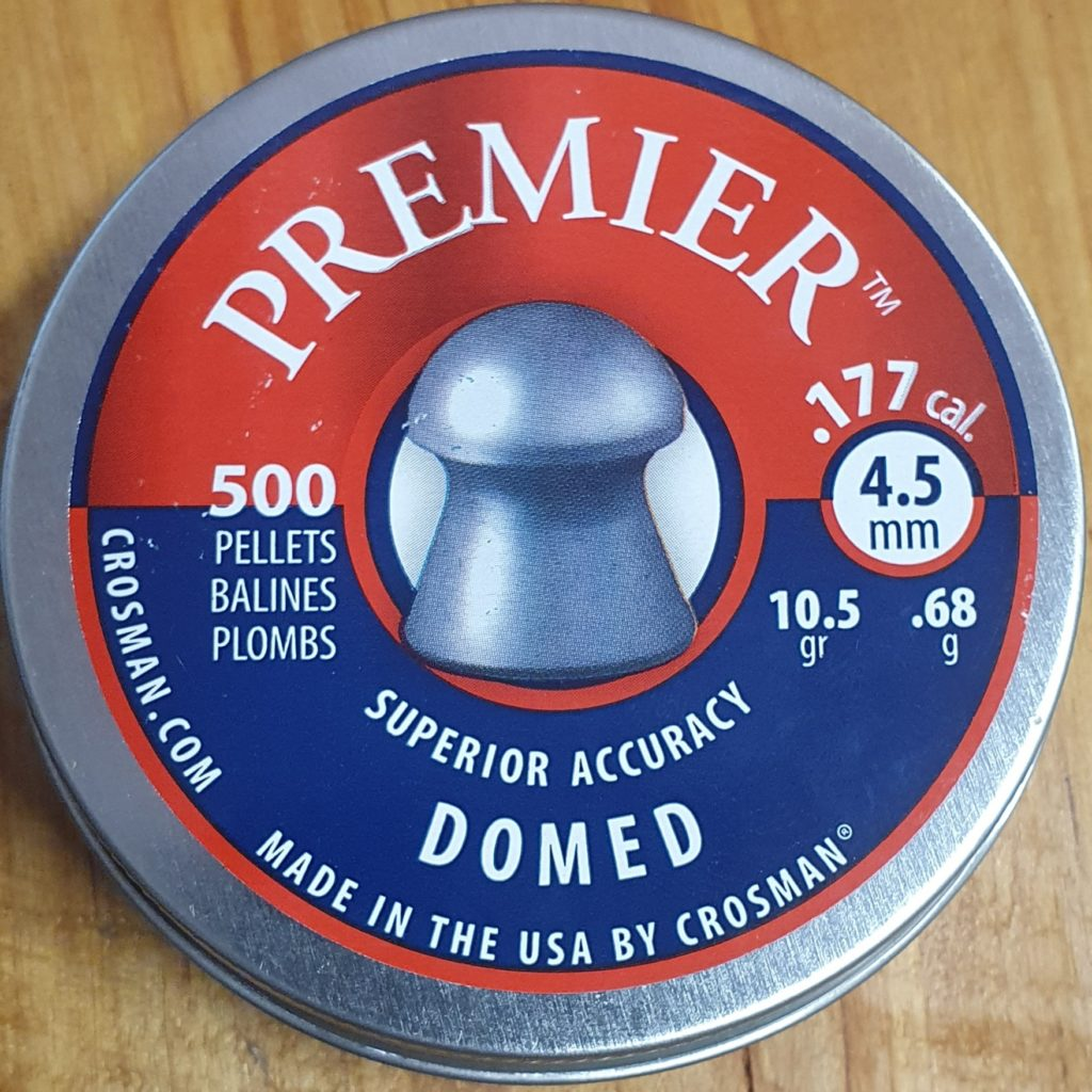 Crosman Premier Domed .177 10.5gr Pellets