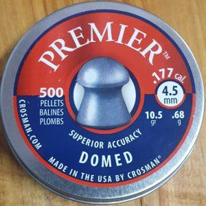 Crosman Premier Domed .177 10.5gr Pellets
