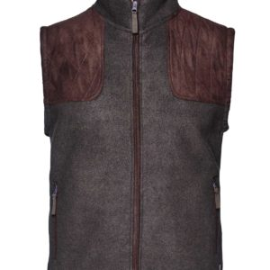 Seeland William 2 Fleece Gilet Moose Brown