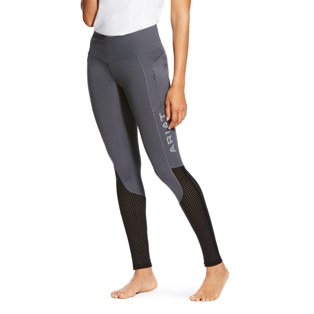 Ariat EOS Full Seat Riding Tights Grey