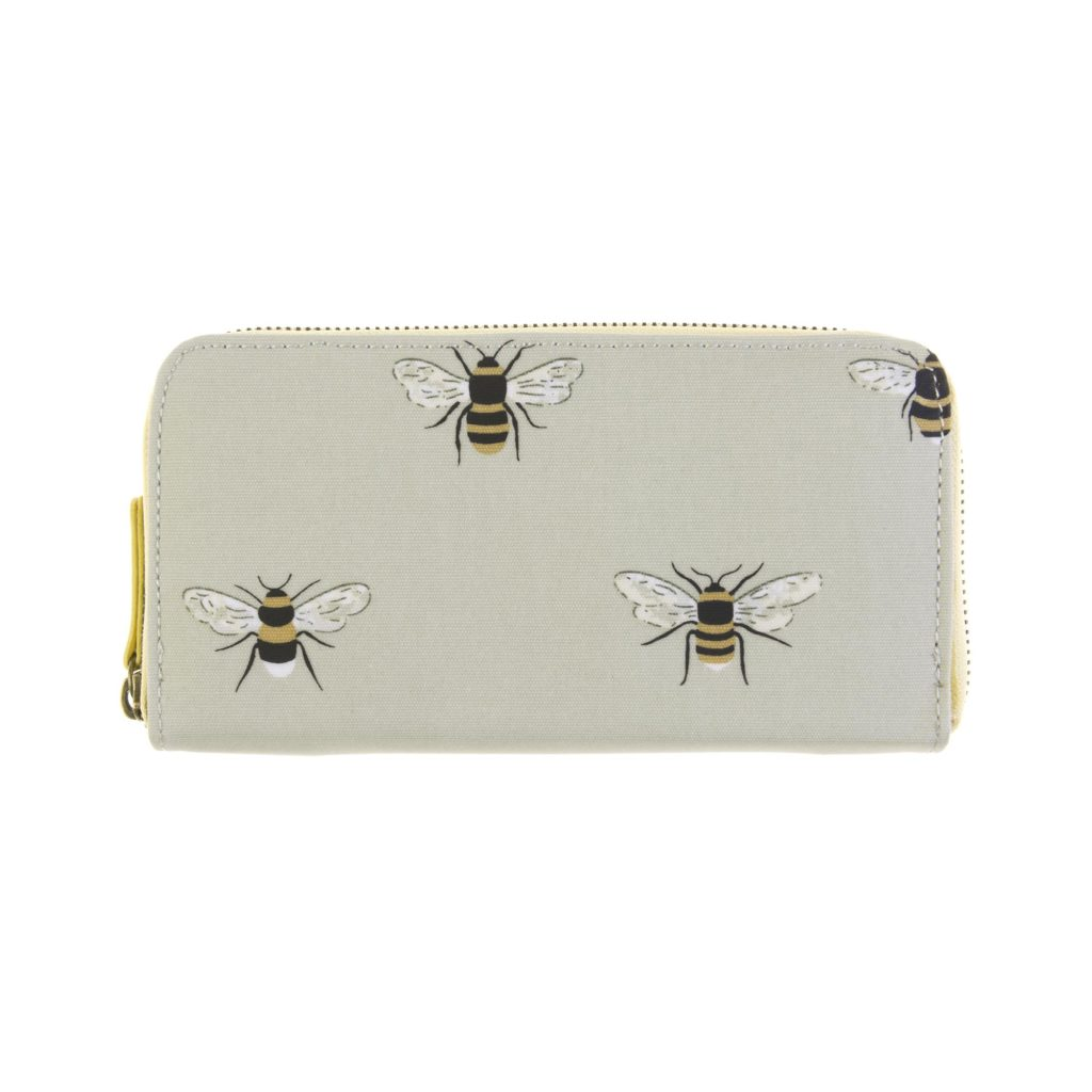 Sophie Allport Bees Oilcloth Wallet