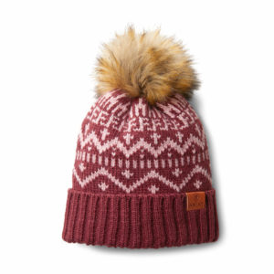 Ariat Aztec Wooly Hat with Bobble Fig Galaxy/Island Blush