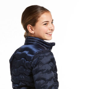 Ariat Kids Ideal Down Jacket Navy