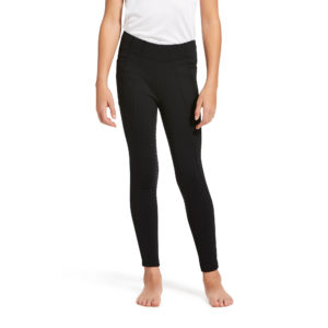 Ariat Kids Attain Full Seat Winter Riding Tights Black