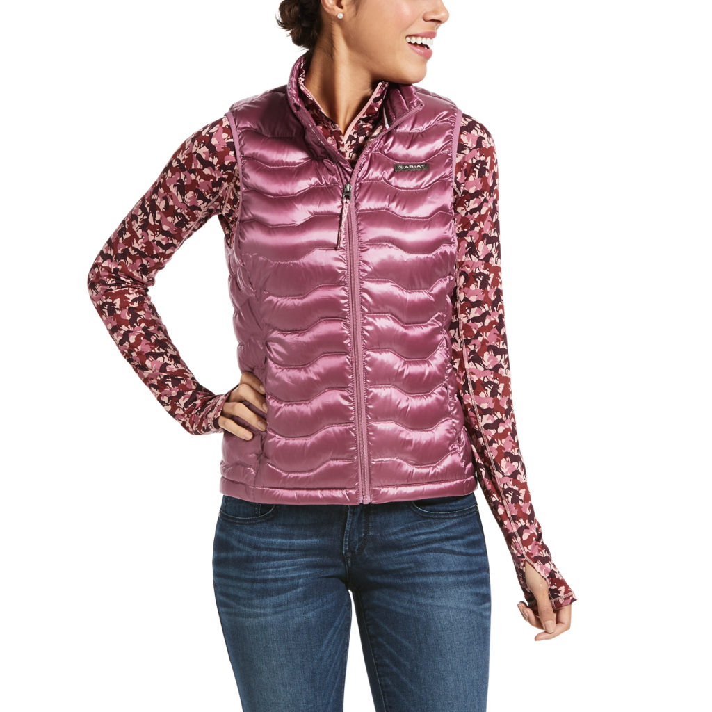 Ariat Ideal Down Vest Rose Cocoa