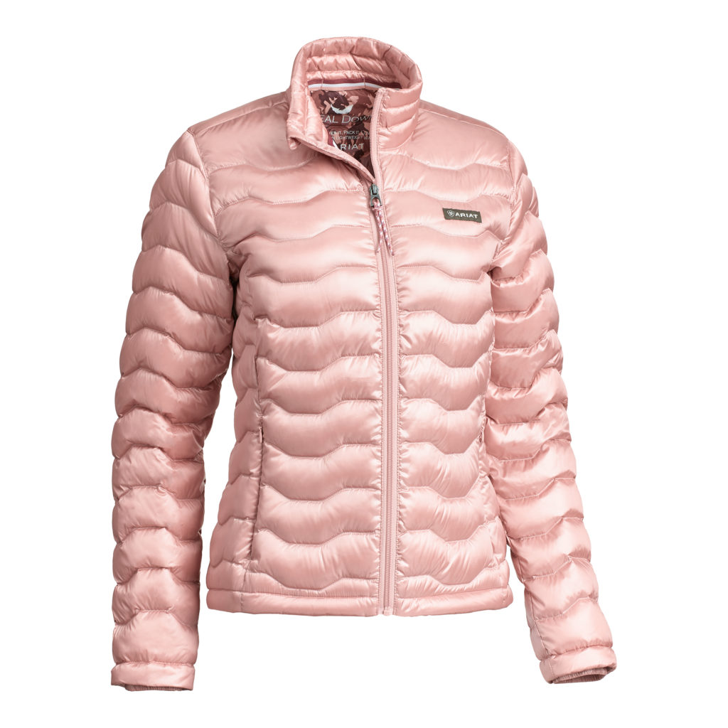 Ariat Ladies Ideal Down Jacket Island Blush