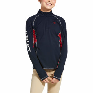 Ariat Kids Lowell 2.0 1.4 Zip Baselayer Team