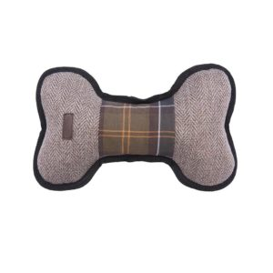 Barbour Dog Toy Bone