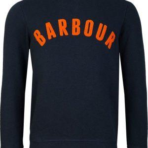 Barbour Prep Logo Sweatshirt Navy Large