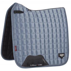 LeMieux Loire Classic Dressage Pad Ice Blue Large