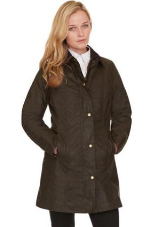 Barbour Belsay Wax Jacket Olive