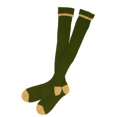 olive_gold_shooting_sock